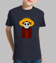 One piece con sombrero niño