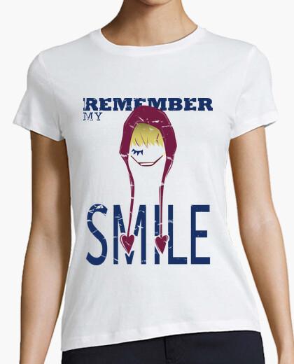 Camiseta One Piece Smile para mujer