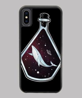 oneiric weltraum - balena im weltraum in eine flasche
