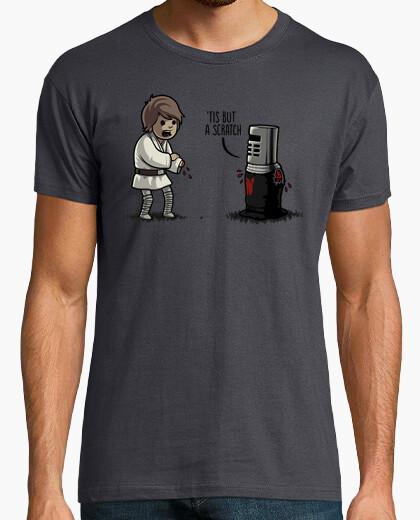 Only a scratch t-shirt