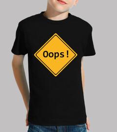 oops! / error / signal