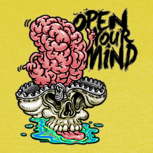 Camisetas Open your mind