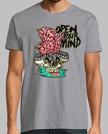 Open your mind camiseta