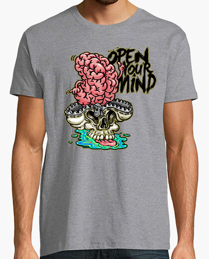 Open your mind camiseta