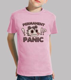 oposum pánico permanente - camisa para niños