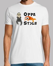 Oppa Gamba Style - Blanca