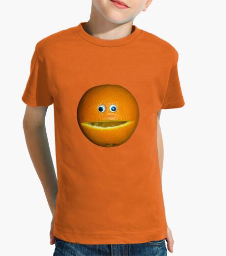 Ropa infantil Orange face