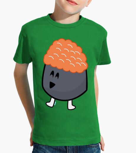 Orange ikura bubble children's clothes