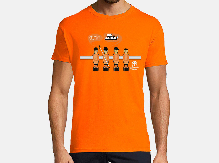 Tee-shirt Orange mécanique | tostadora.fr