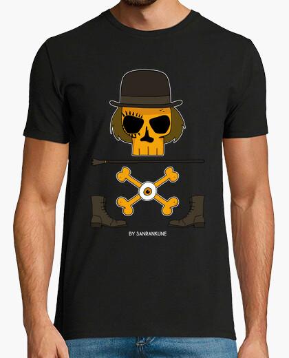 Orange mechanical t-shirt