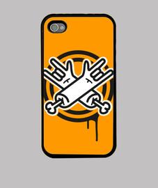 orange metal p