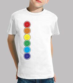 Orange Pride, camiseta niñe