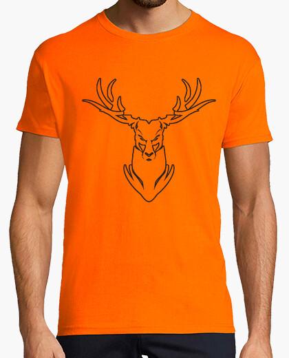 T-Shirt orange rotwild