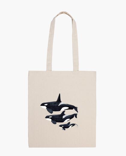 Orca Bolsa tela 100 algodón