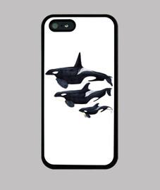 orca cas iphone 5 / 5s, noir