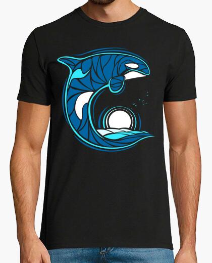 Camiseta Orca tribal
