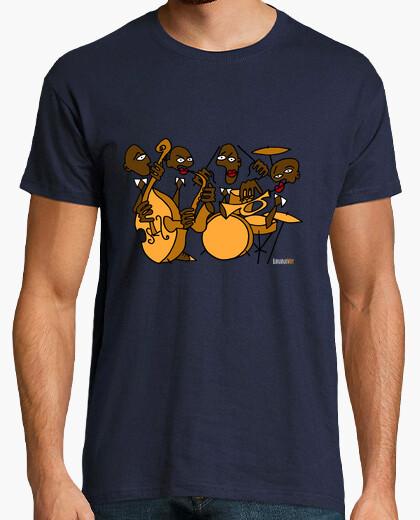 Tee-shirt orchestre de jazz de la banane