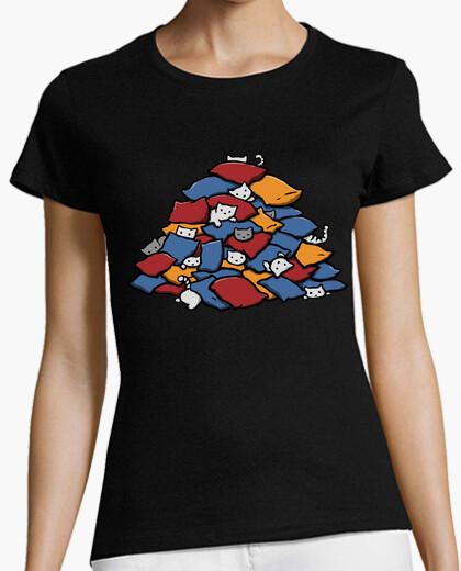 Tee-shirt oreiller fort