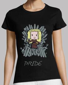 orgoglio, t-shirt donna
