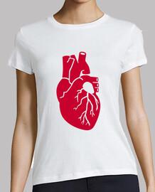 orgue de coeur rouge