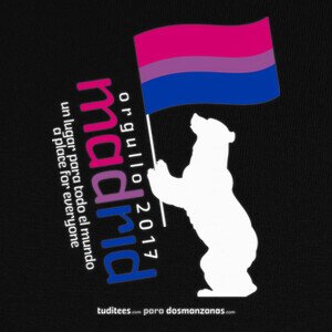 Orgullo 2017 Madrid Bisexual T-shirts