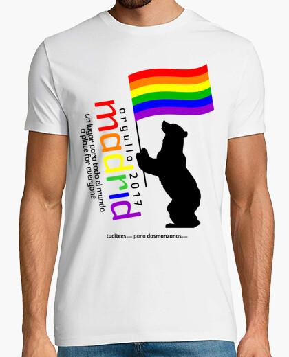Camiseta Orgullo 2017 Madrid LGTBI