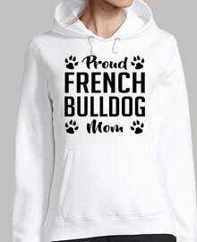 orgullosa mamá bulldog francés