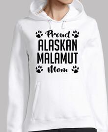 orgullosa mamá malamut de alaska