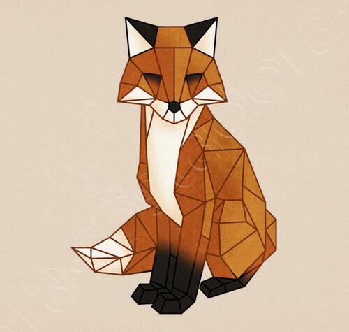 Origami Fox Bag Bag 1806300 Tostadora