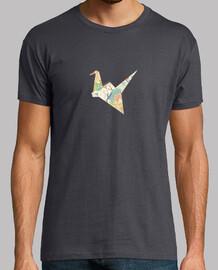 Origami kurrilo-Origami grulla