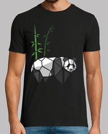 origami panda de bambou