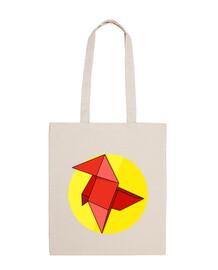 origami rouge