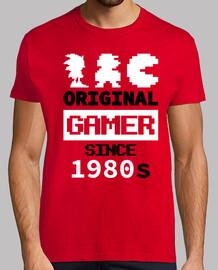 original gamer since 1980 red