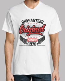 original garanti depuis 1970