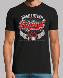 original garanti depuis 1986