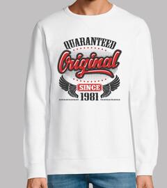 original garantizado desde 1981
