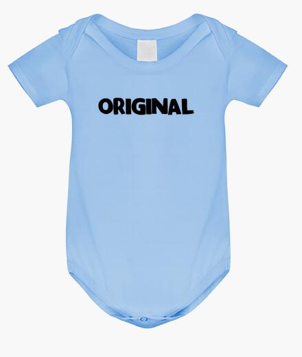 Ropa infantil ORIGINAL (letras negras)