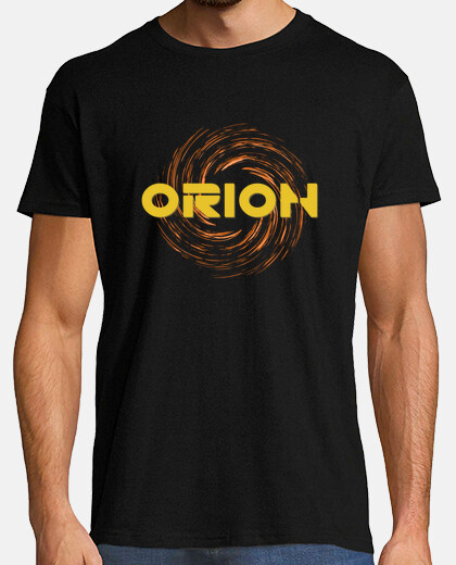 Camisetas ORION LOGO AMARILLO