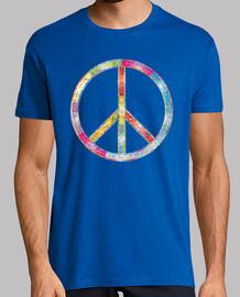 Ornamentado símbolo de la Paz
