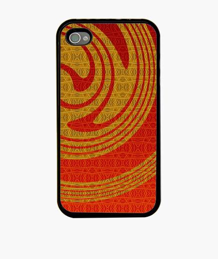 Funda iPhone oro iphone 4 espiral