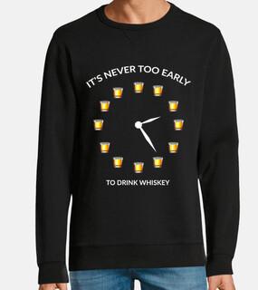 orologio di vetro amante della bevanda