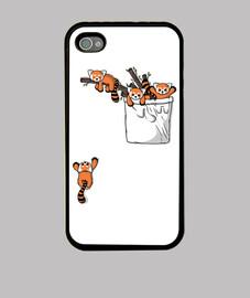 orsi panda rossi tascabili