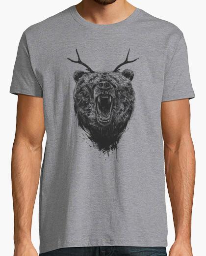 T-shirt orso arrabbiato