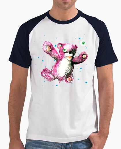 T-shirt orso uomo baseball manica corta