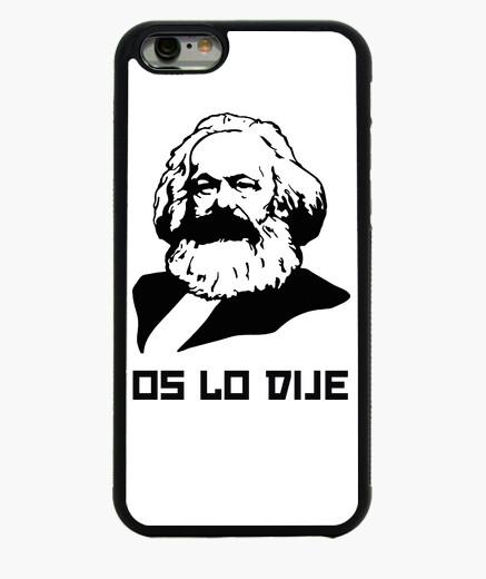 Funda iPhone 6 / 6S Os lo dije - Karl Marx (iPhone)