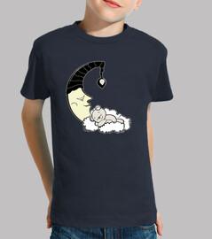 osito de peluche y la luna