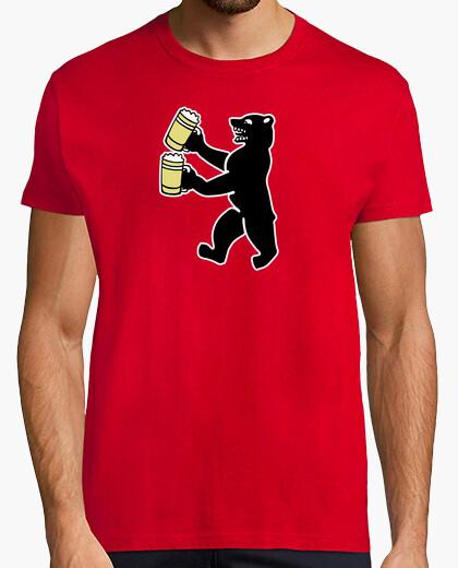 Camiseta oso de la cerveza de cerveza berlin bier
