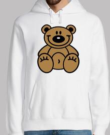 oso de peluche sonriente