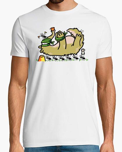 Camiseta Oso Hormiguero y Hormigas - El Cazador Cazado