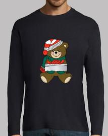 Oso navideño